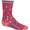 Icebreaker Kids Lifestyle Ultra Light Crew Socks Wild Rose/Tulip